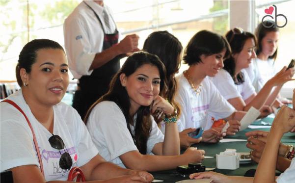 Clube das blogueiras - Aniversário solidário - almoço