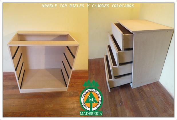 Productos maderables de cuale como hacer una c moda con mdf for Armar muebles de mdf