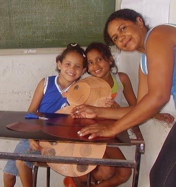 Jogo da Joaninha confeccionado  por Elinalva e alunos(a) da Escola João Gomes em Sipaúba Bodocó PE-