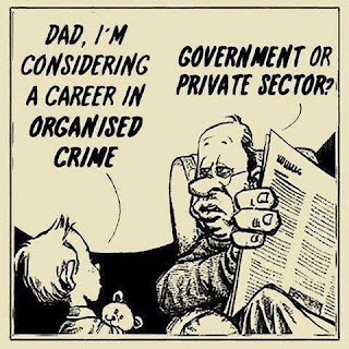 Considering a career in organized crime...