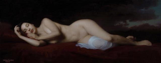 D.W.C. Nude  - Artist Adrian Gottlieb