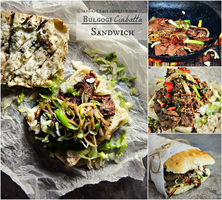 Bulgogi Ciabatta Sandwich