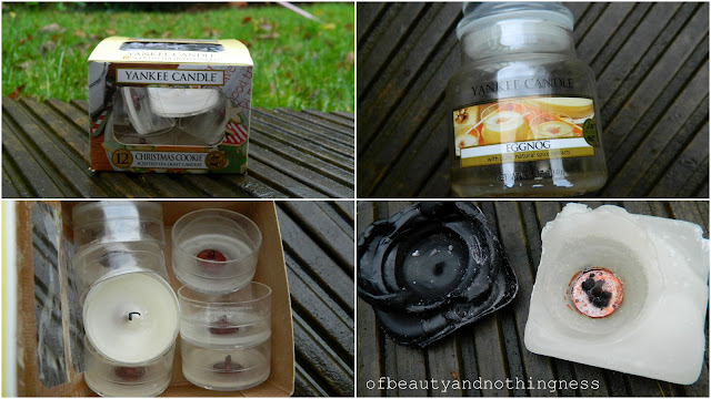 November Empties: Candles!