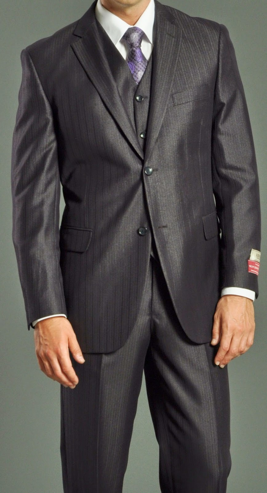 Vested Suit for Wedding