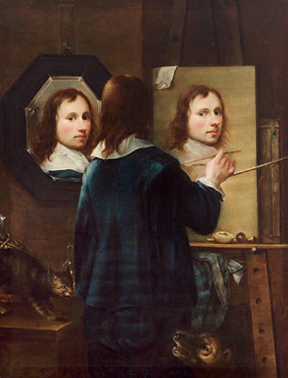 Artplastoc 24 la mise en abyme en peinture for Autoportrait miroir