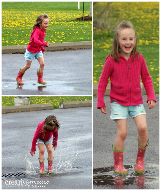 Puddle Jumping - A right of passage for Spring