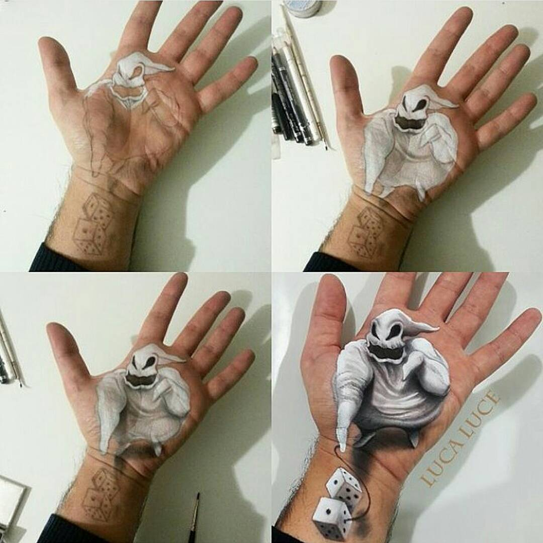 13-Bau-Bau-The-Nightmare-Before-Christmas-Luca-Luce-Body-Painting-with-3D-Hand-Drawings-www-designstack-co
