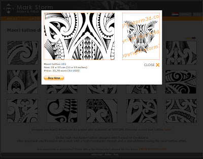 lightbox plugin for tattoo gallery webshop paypal button