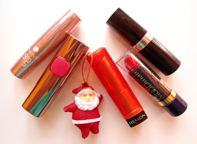 Favorite Red Lipstick Picks for Christmas / New Year