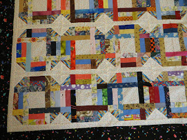 Quilt on the frame
