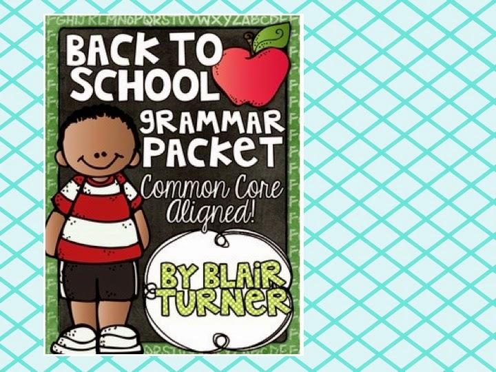 http://www.teacherspayteachers.com/Product/Back-To-School-Grammar-Packet-1312463