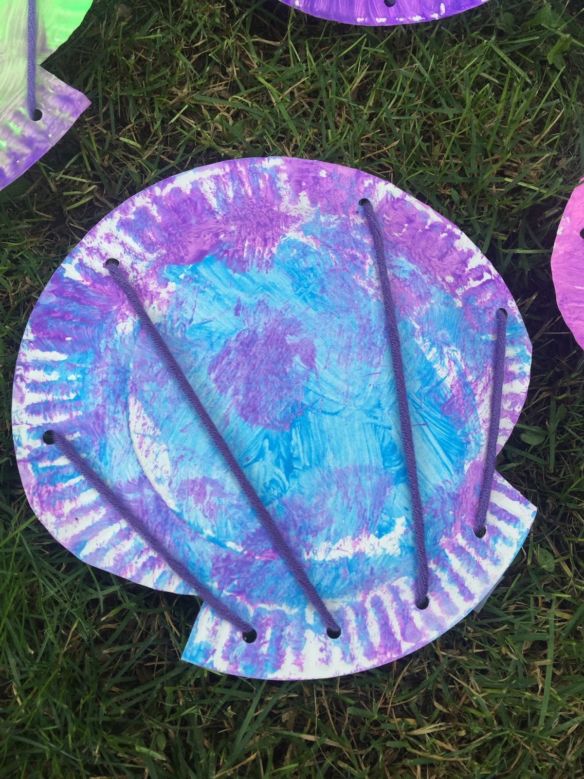Terrific preschool years summer camp for Shell art and craft