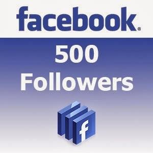 500 Facebook Followers