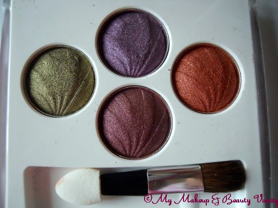 Lotus PURESTAY Long Lasting Eyeshadow in Electric Glaze+eyeshadow palettes+lotus eyeshadow