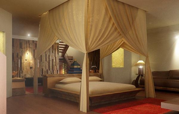 dekorasi ulang tampilan kamar tidur netral anda dengan