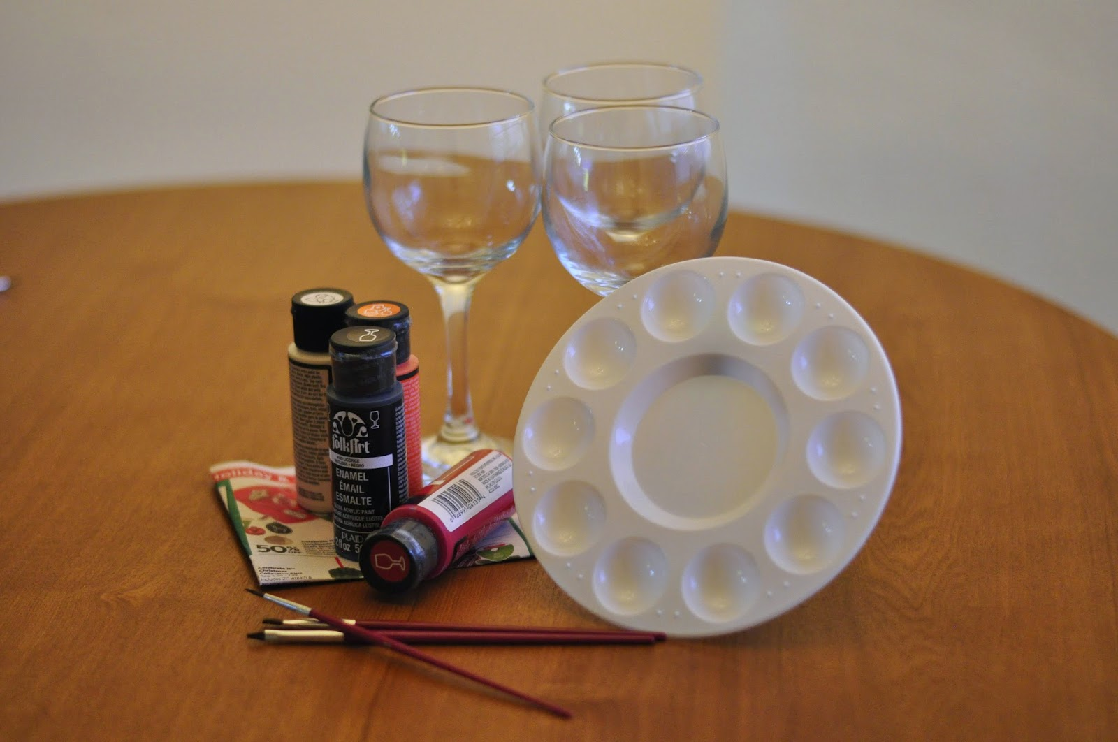 Snowman Wine Glass
