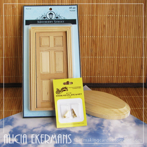She 39 s making cards pin spired tooth fairy door for Fairy doors for sale