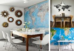 Mapas en todas partes...