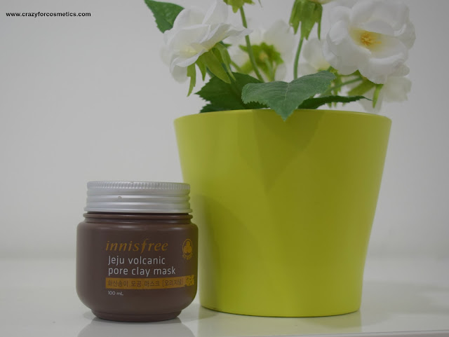 Innisfree Singapore Jeju Volcanic Pore Clay Mask review