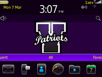 RivetPatriots9300 1 Rivet Patriots theme for Blackberry 9300 Curve 3G