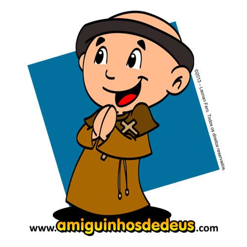 vocação religiosa para colorir amiguinhos de deus