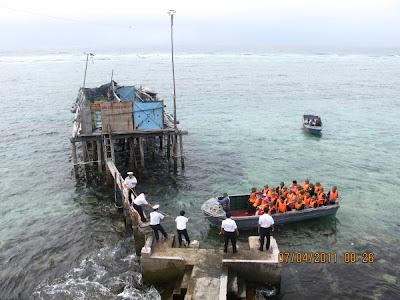 Cập đảo Chìm