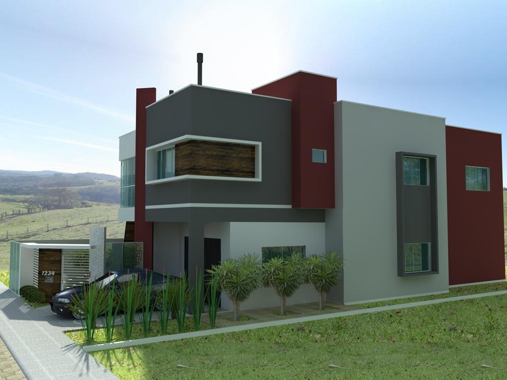 Halla arquitetura e urbanismo casa moderna 2 for Casa moderna 8