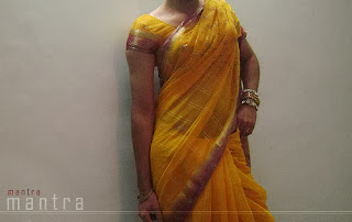 crossdressers Saree wearing