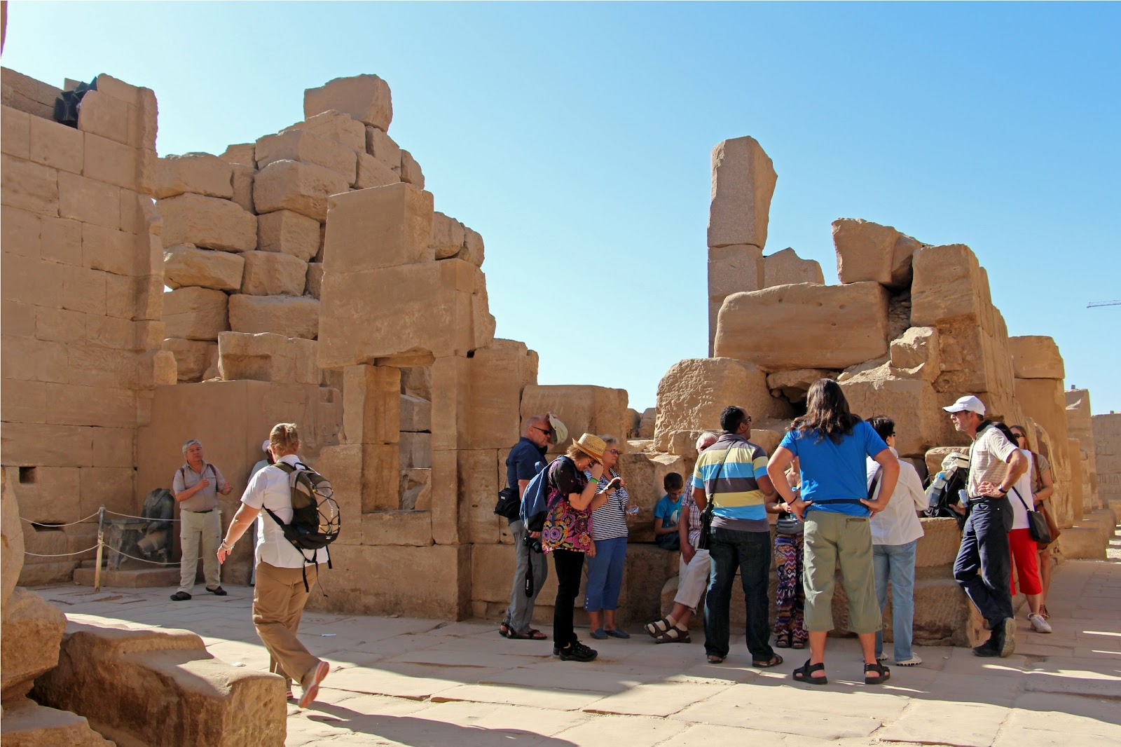 magnificent karnak temple (luxor's east bank)