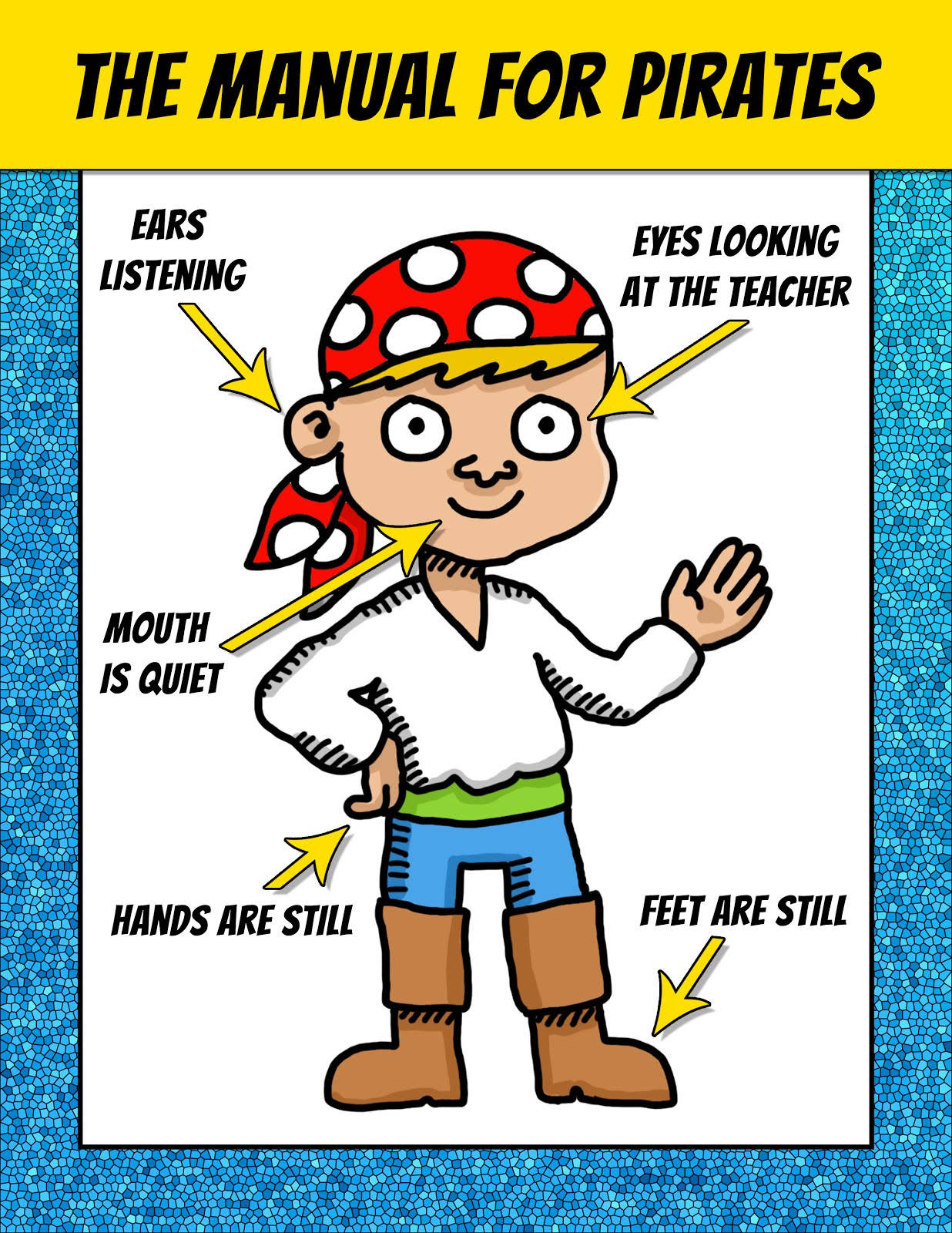 Classroom Freebies Too: Pirates Classroom Posters - FREE!