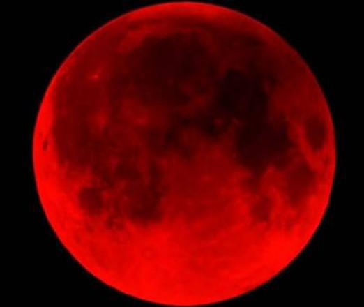 Gerhana Bulan 8 Oktober 2014