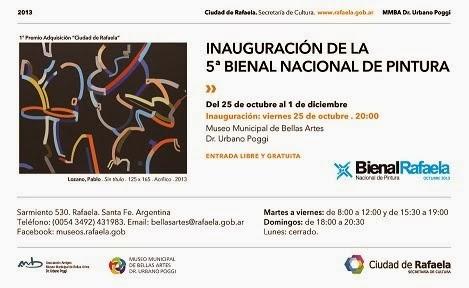Selecciòn Bienal de Pintura de Rafaela 2013