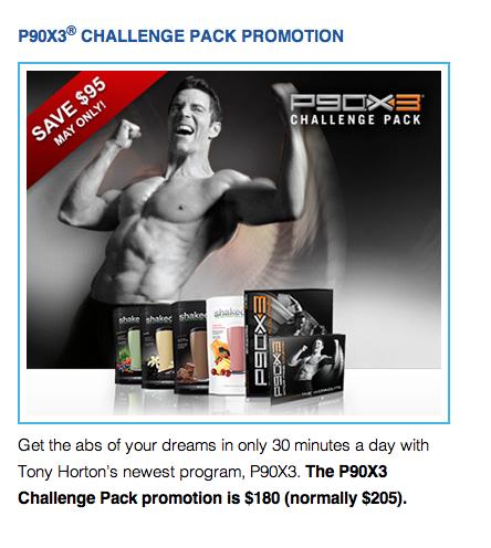 P90X3 Challenge Pack