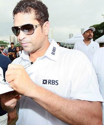 Sachin Tendulkar with shades