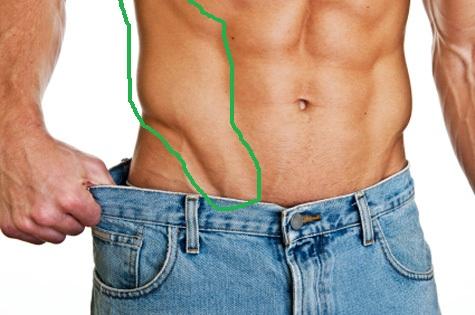 Baja de peso con chia y linaza msculo sobre cuerpo