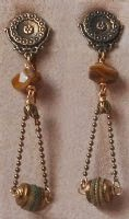 Nile Crossing Non-pierced Dangle Earrings