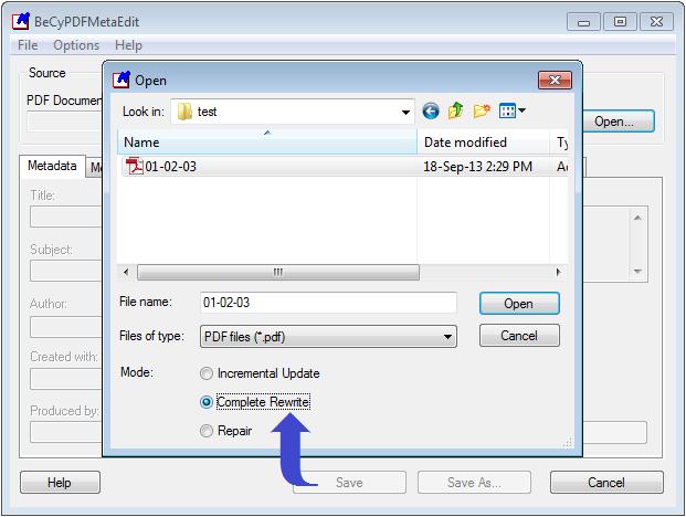 Remove PDF Password Complete Rewrite