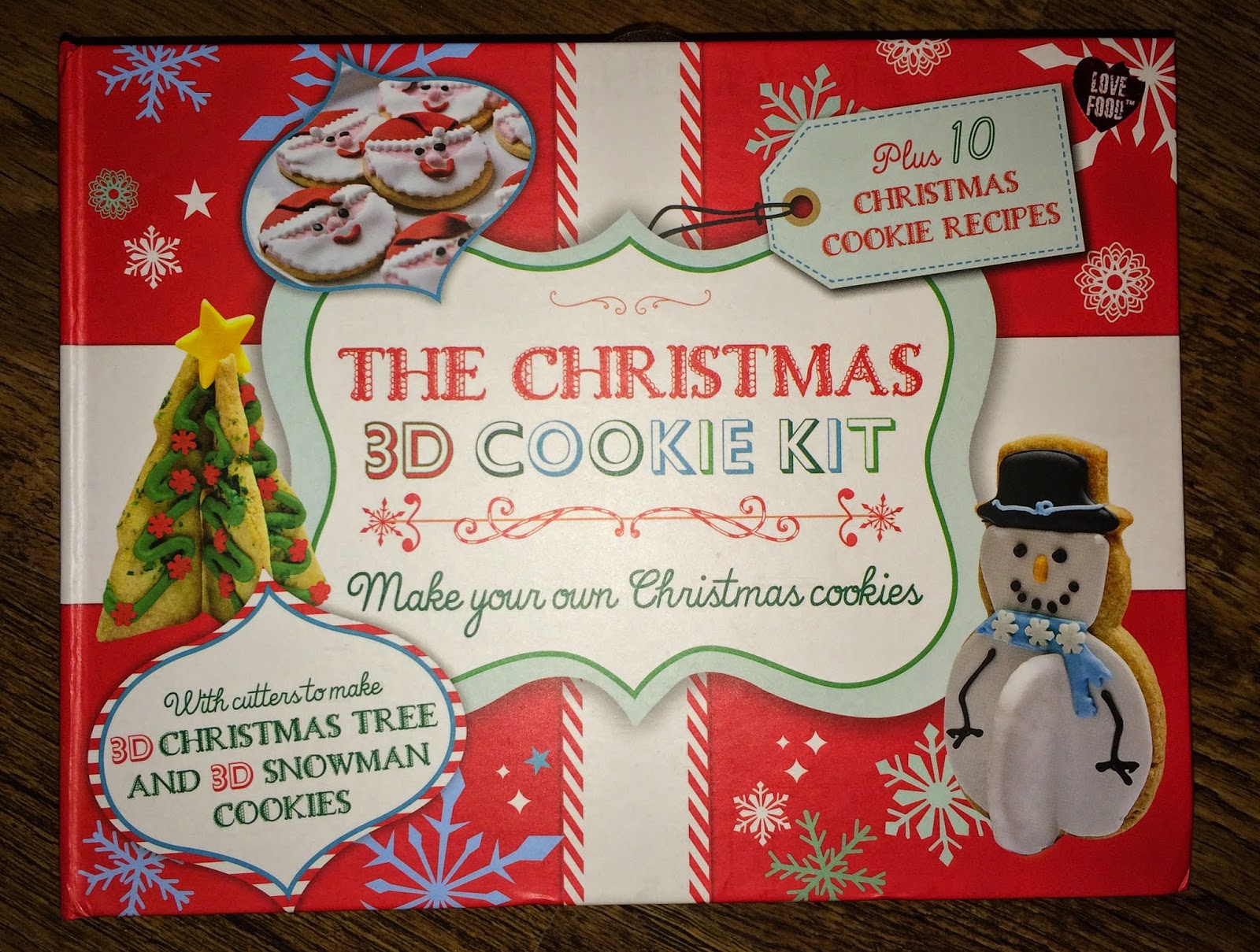 Mrs Bishop S Bakes And Banter The 3d Christmas Cookie Kit From
