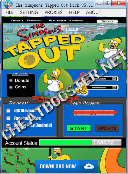 Tapped Out Free Donuts And Coins The Simpsons Cheats