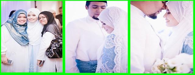 15 Gambar Pernikahan Blogger Dr. Fatin Liyana - Dr. Anwar Fazal