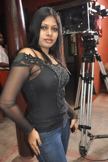 Actress Victoria Pictures in Jeans at 'Evan Di Unna Pethan' Movie Launch 0007
