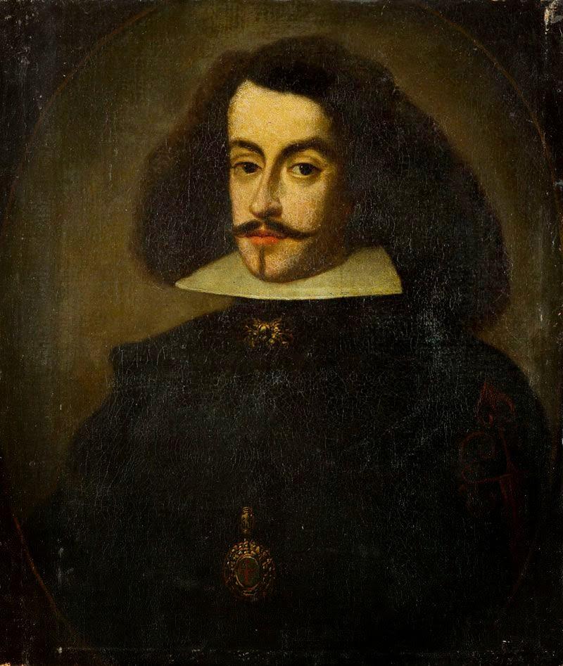 Orden de Santiago: Retrato de caballero del siglo XVII