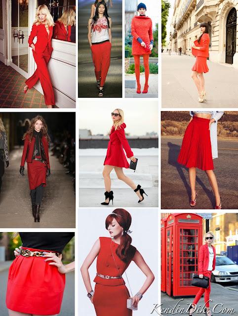 kırmızı tasarımlar