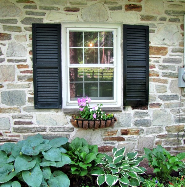 The Painted Home How To Make Your Own Exterior Shutters