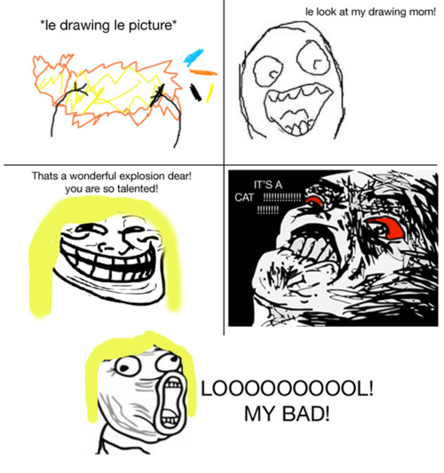 Lol Face Meme Comics lol & Troll | I...