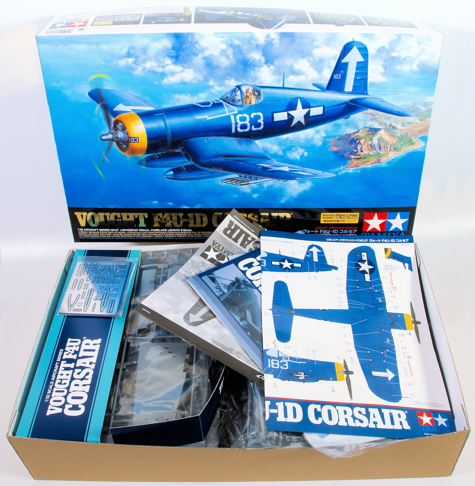 In-boxed: 1/32nd scale F4U-1D Corsair from Tamiya