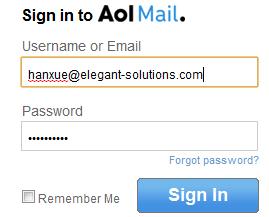 how check aol email: