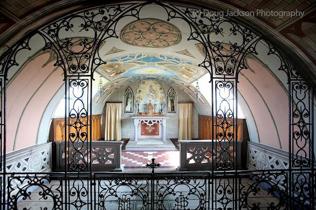 Italian Church built by POW's in WW11