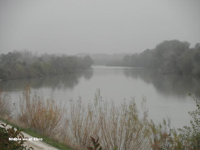Niebla en el Ebro