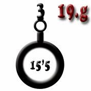 Ejemplo 19.g: Batería de obuses (tres) del calibre 15'5
